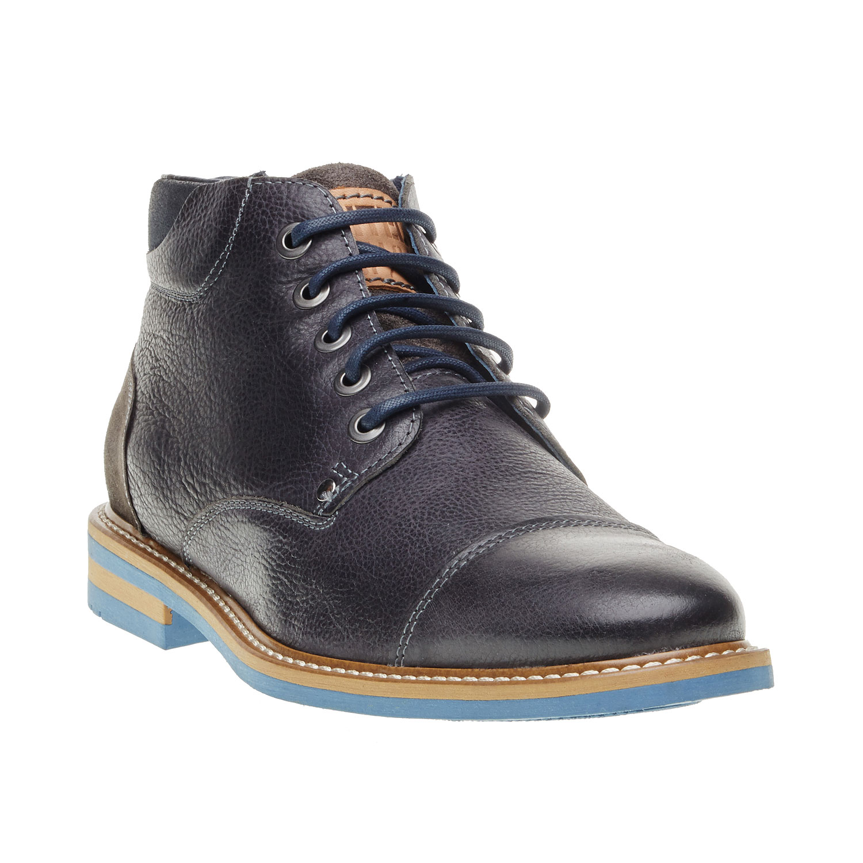 Kožené kotníčkové boty