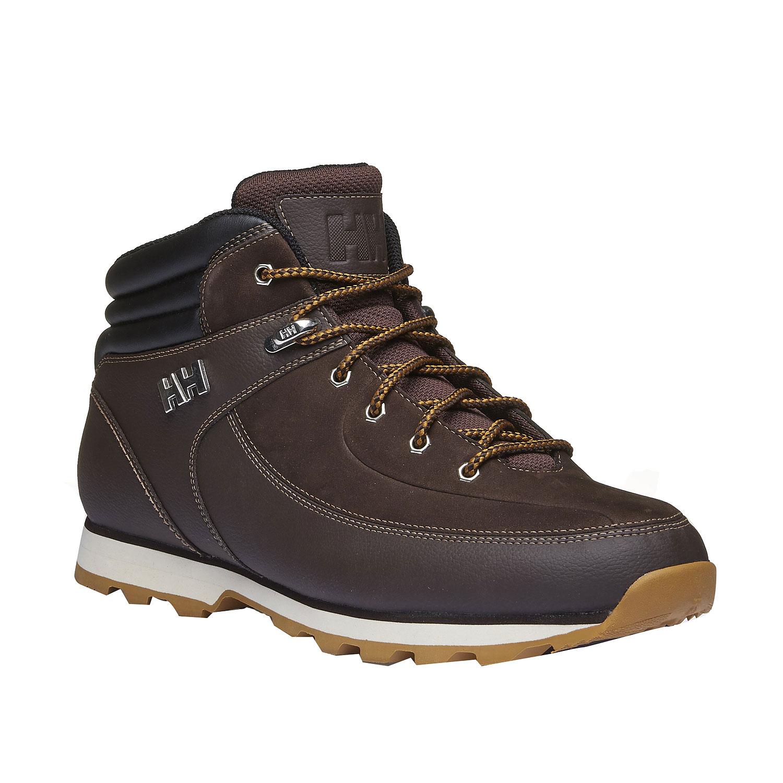 Kožené zimní boty ke kotníkům