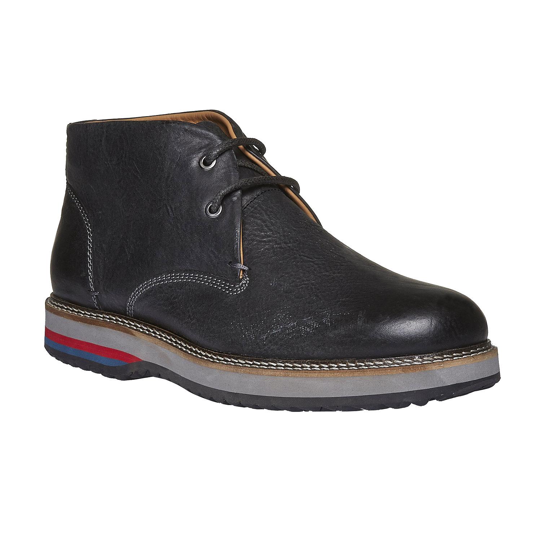Kožené boty ve stylu Desert Boots