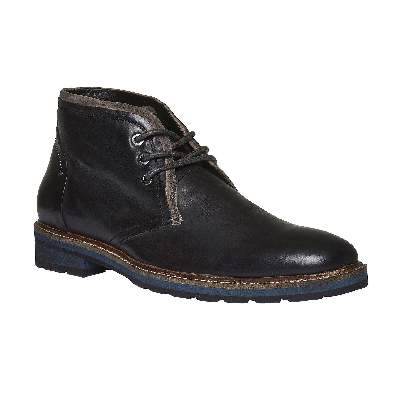 Kožené boty v Chukka stylu
