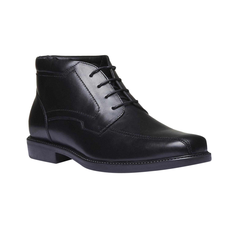 Kožená kotníčková obuv