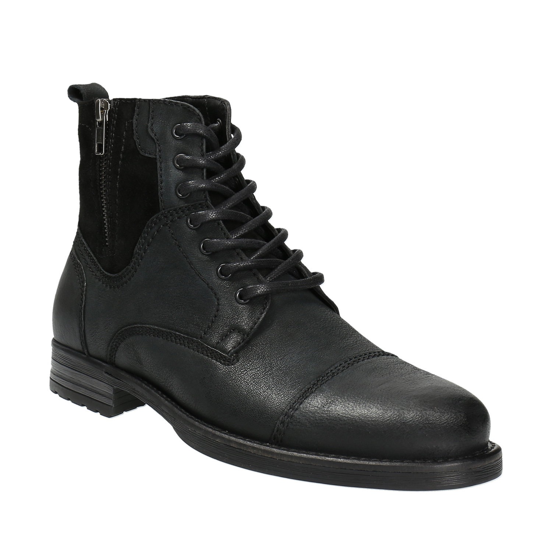 Skórzane buty męskie - 8966642
