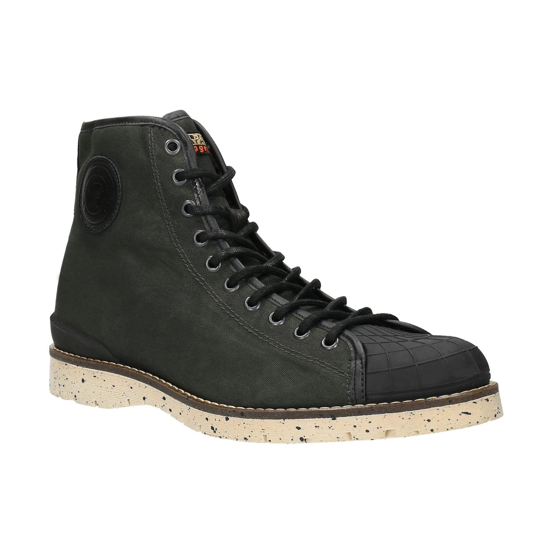 Pánská zimní obuv na výrazné podešvi