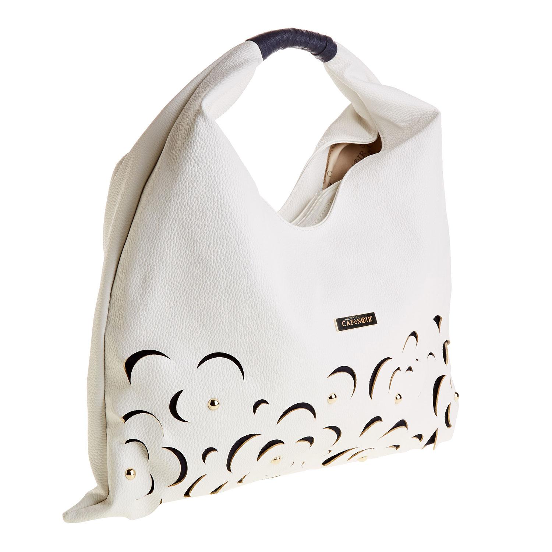 Dámská bílá kabelka typu Hobo