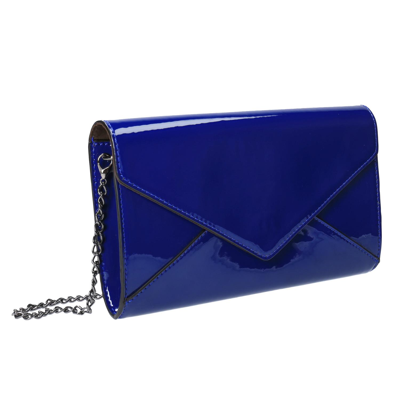 a6b0bbf77c Modrá dámska listová kabelka