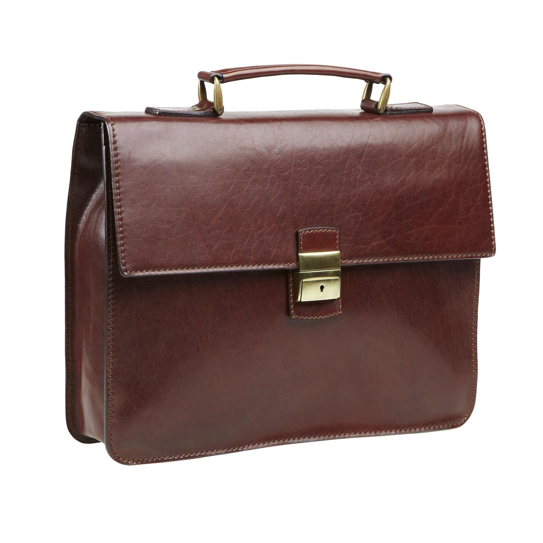 Pánská kožená taška
