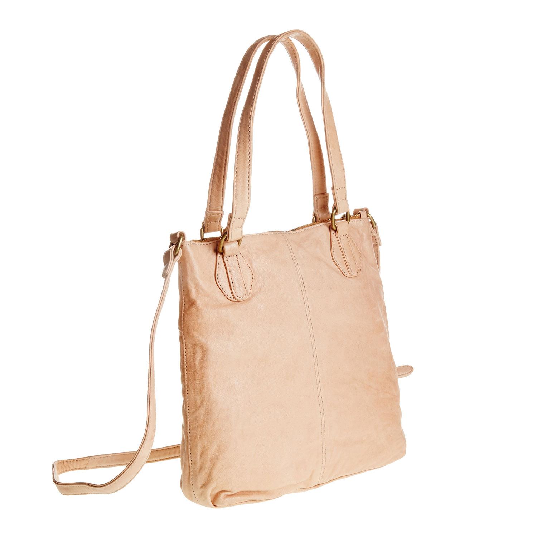 Kožená kabelka s popruhem