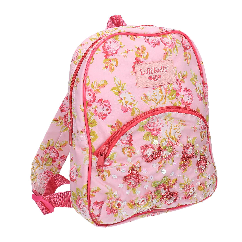 Dětský růžový batoh