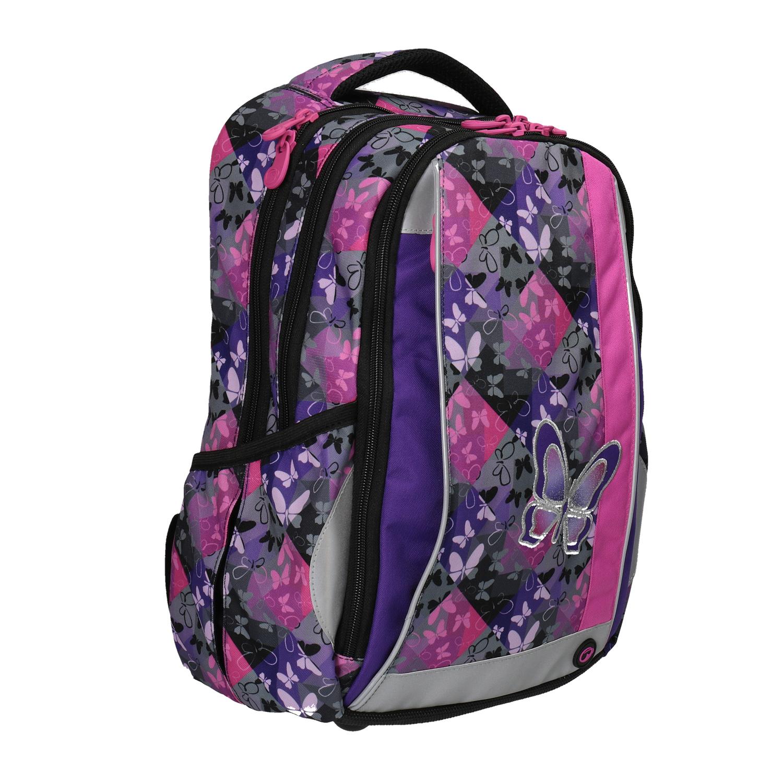 Školní batoh s motýlky