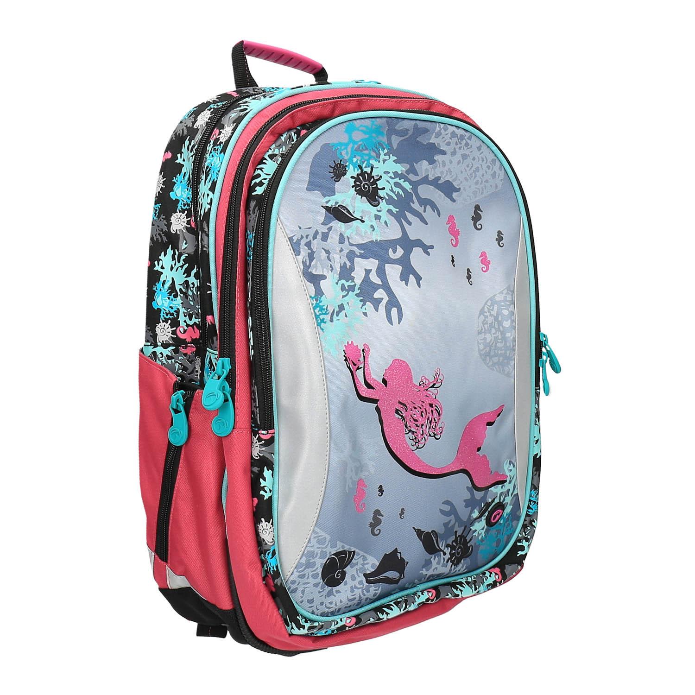 Dívčí školní batoh mořská víla