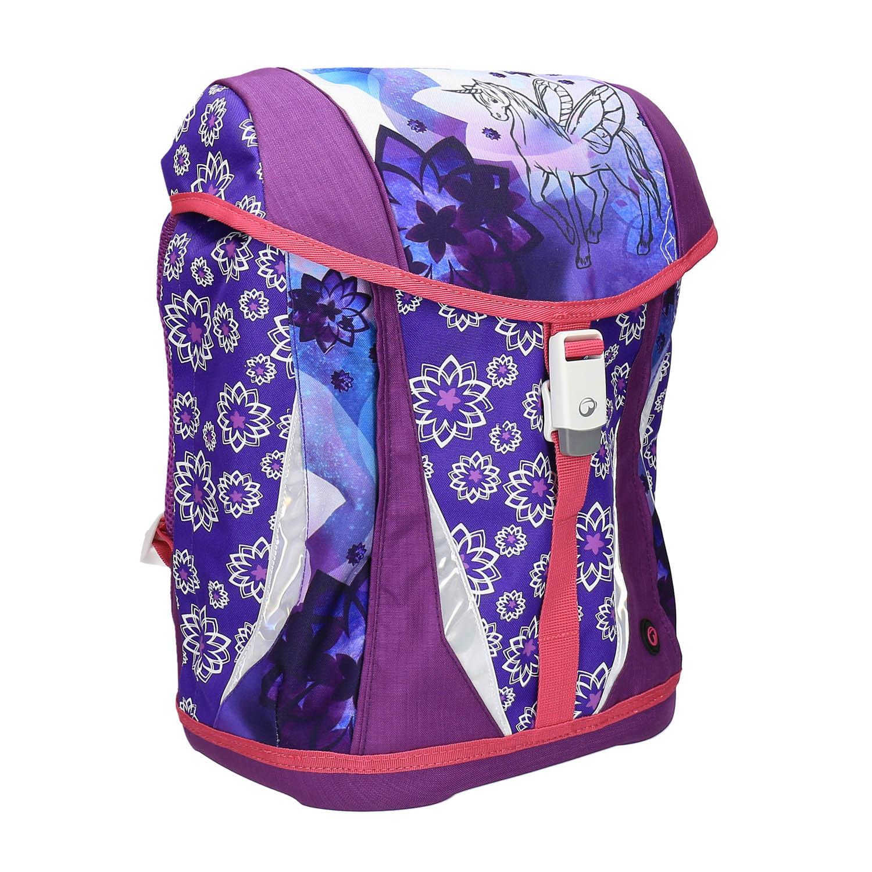 Nastavitelný školní batoh s jednorožcem