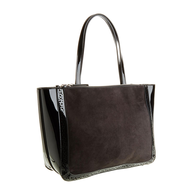 Dámská kabelka s lesklými prvky