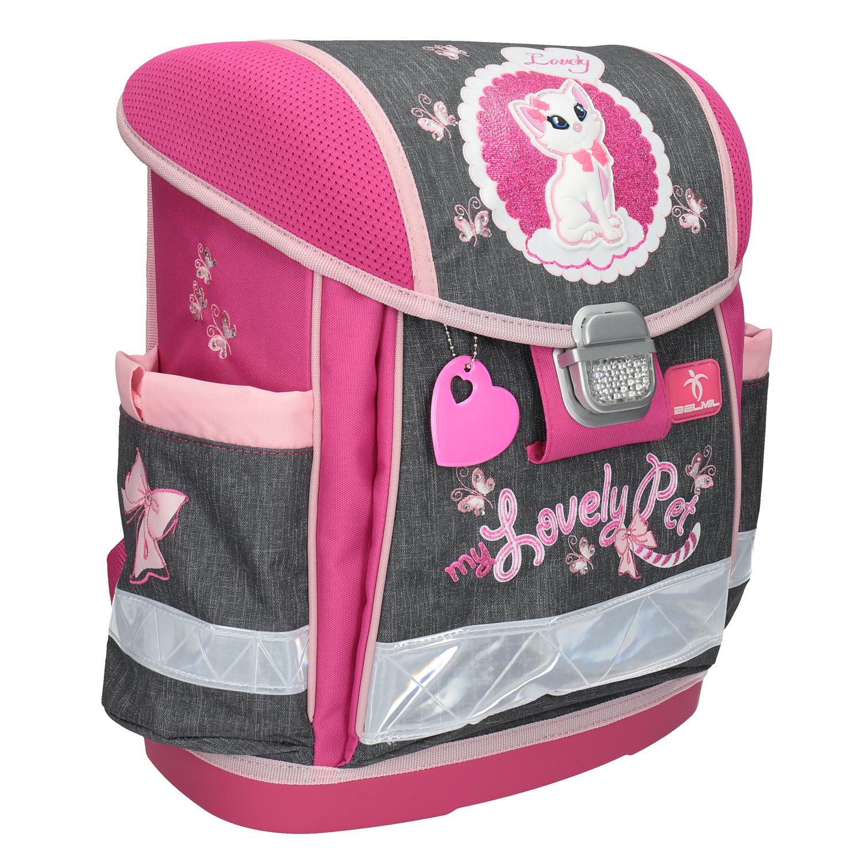 Różowy plecak szkolny - 9699623