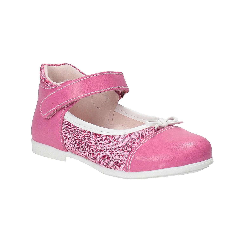 Dziewczęce pantofle do kostki - 1295148