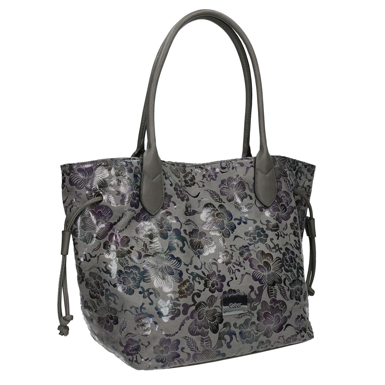 Dámská kabelka s květinovým vzorem