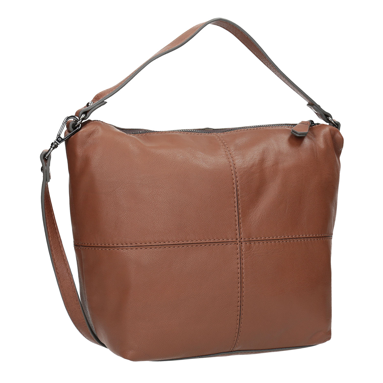 Kožená Hobo kabelka