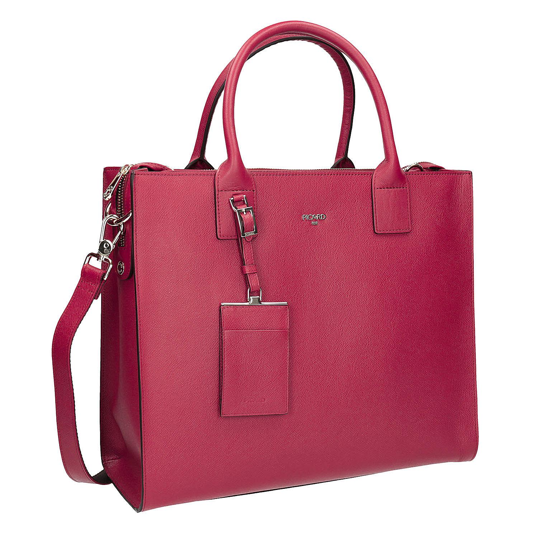 Kožená červená kabelka