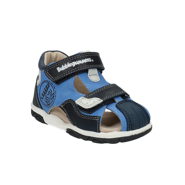 Modré dětské sandály