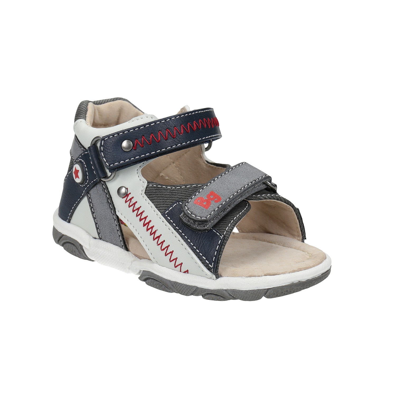 Dětské sandály s výrazným prošitím