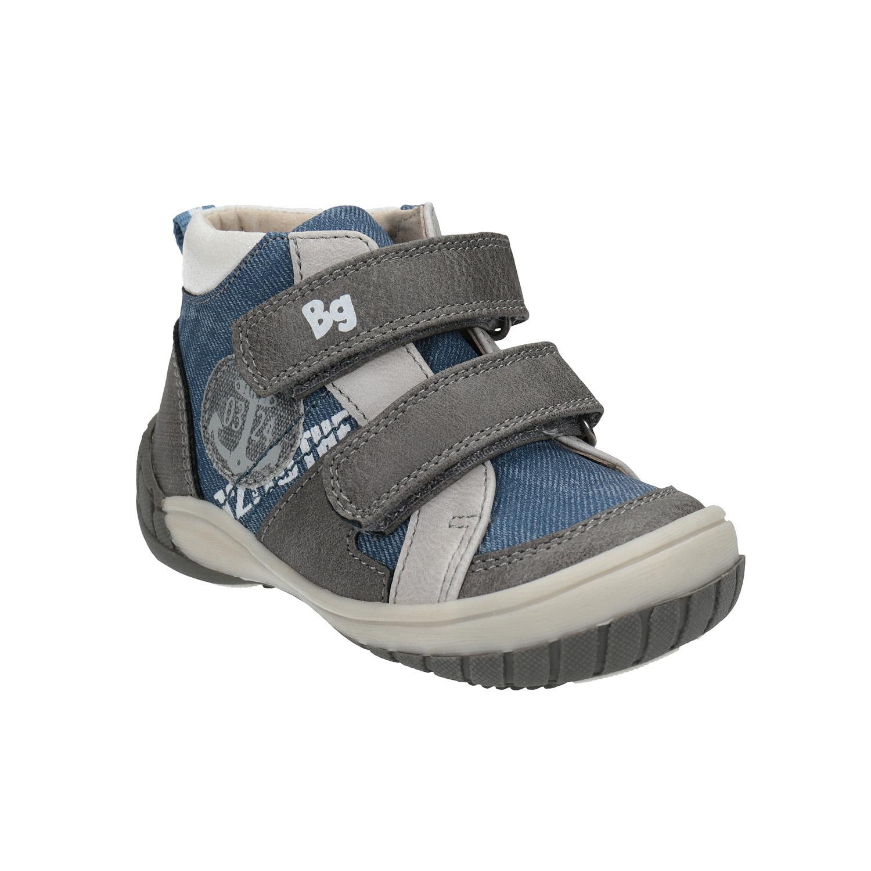 Dětská kotníčková obuv s denimovými detaily