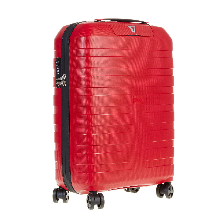 Cestovní kufr na kolečkách červený