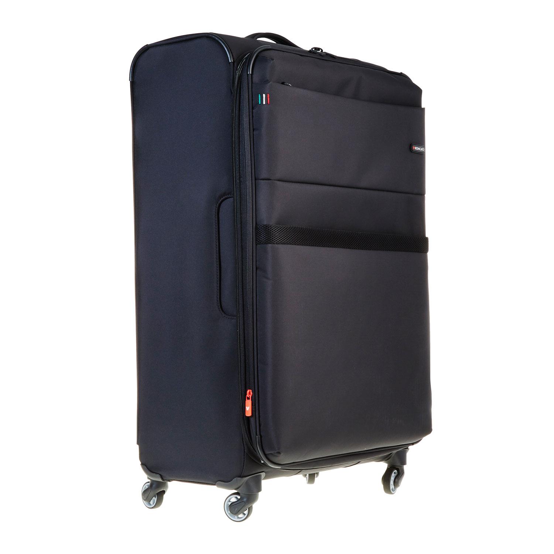 Černý kufrt na kolečkách