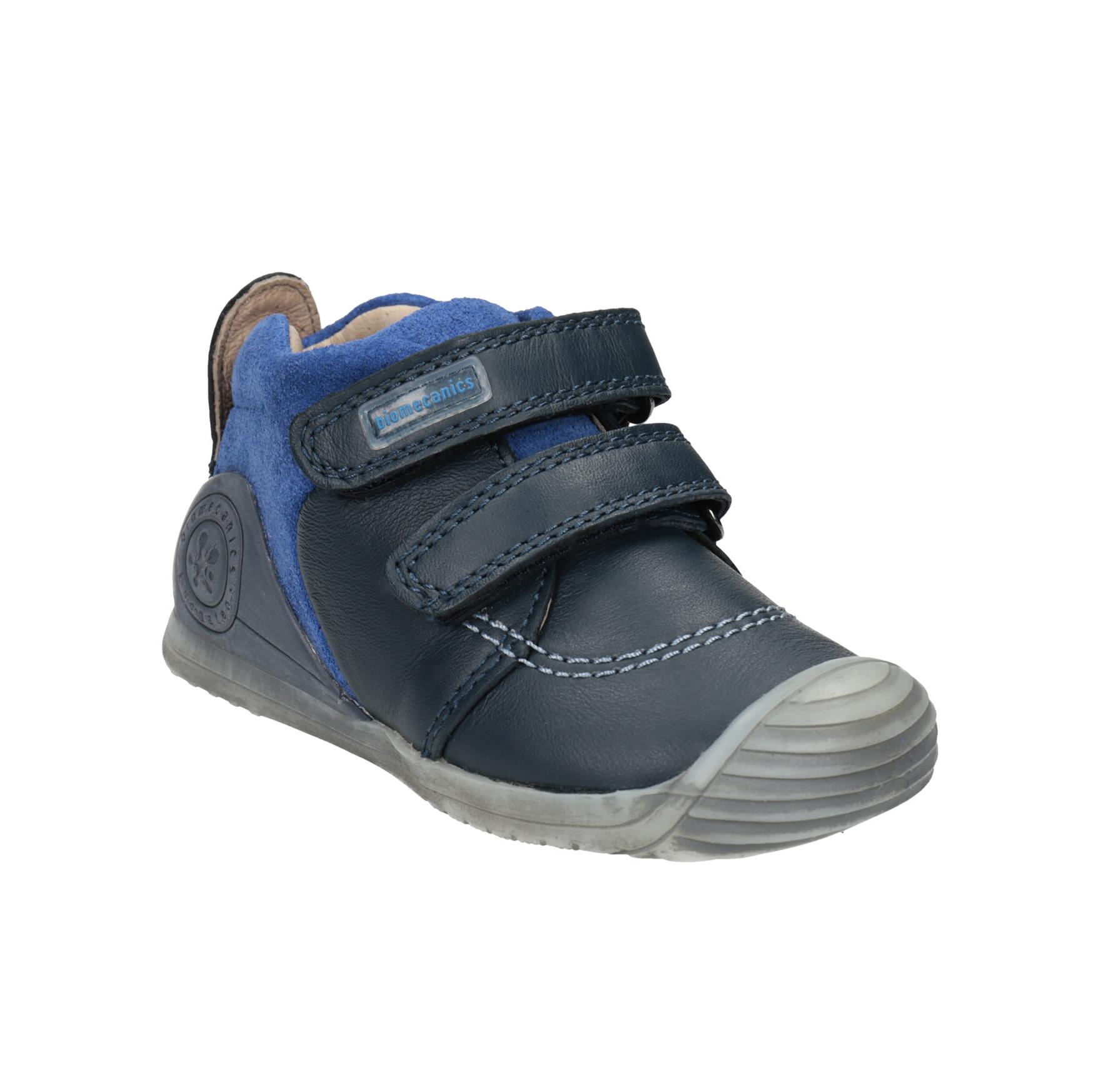 Dětská kožená obuv na suché zipy