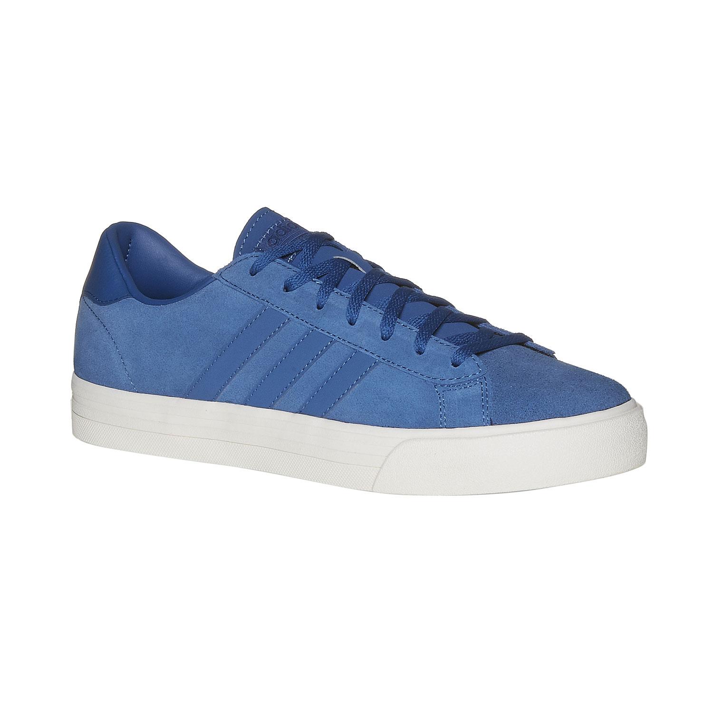 Kožené pánské tenisky modré