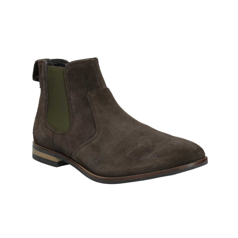 Skórzane buty męskie typu chelsea - 8934010
