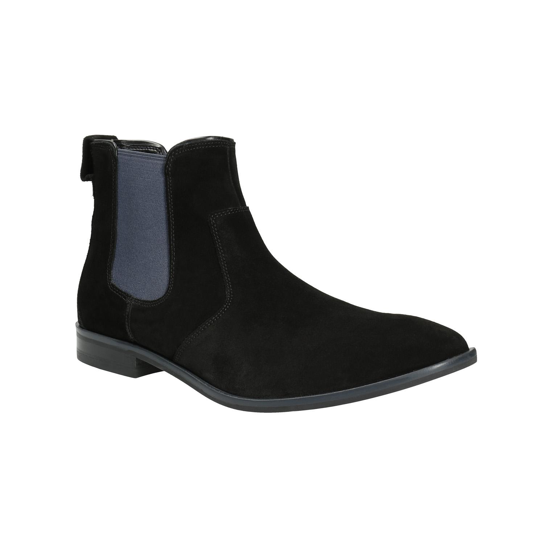 Skórzane buty męskie typu chelsea - 8936010