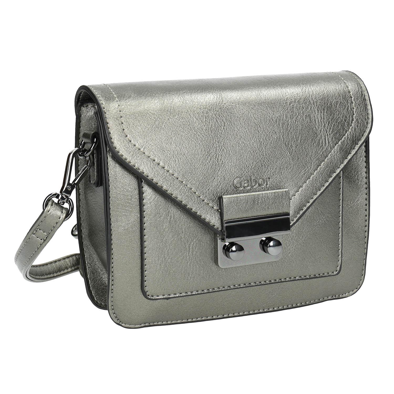 Stříbrná Crossbody kabelka