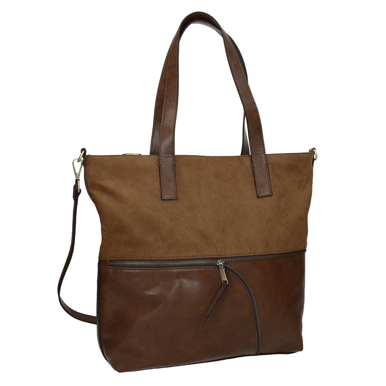 Dámská kabelka s asymetrickým zipem
