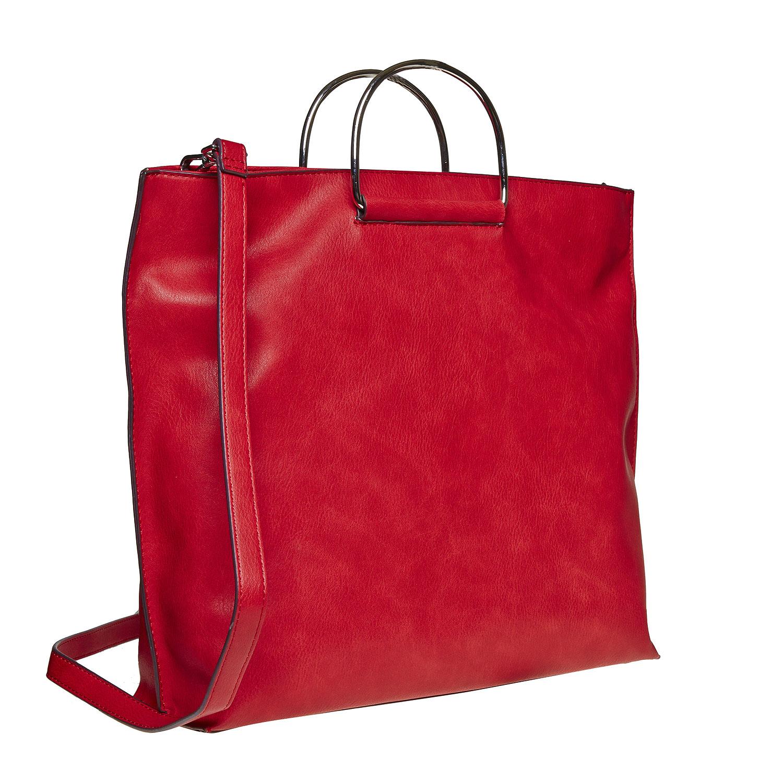 Czerwona torba damska - 9615327
