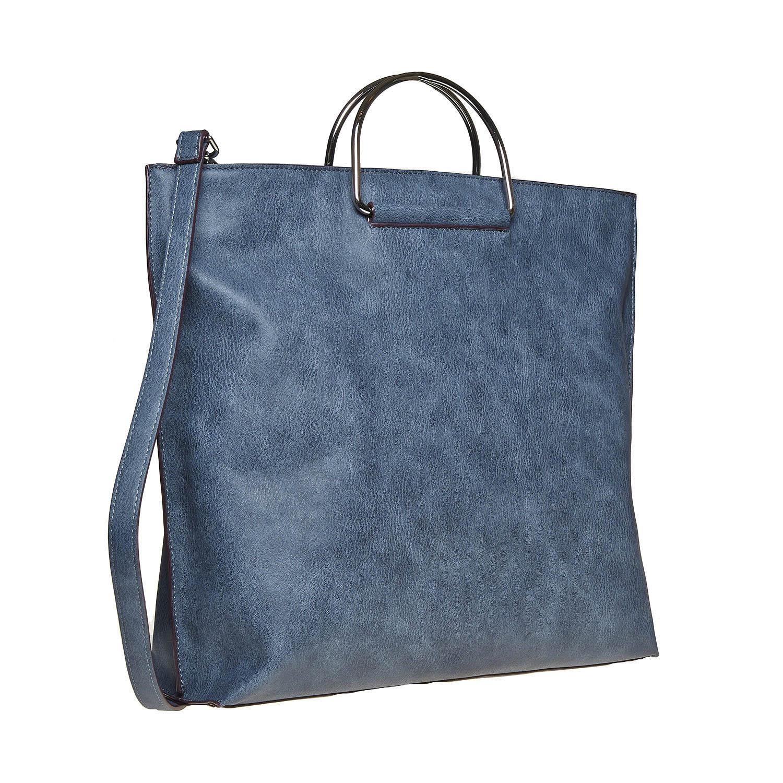 Niebieska torba damska - 9619327