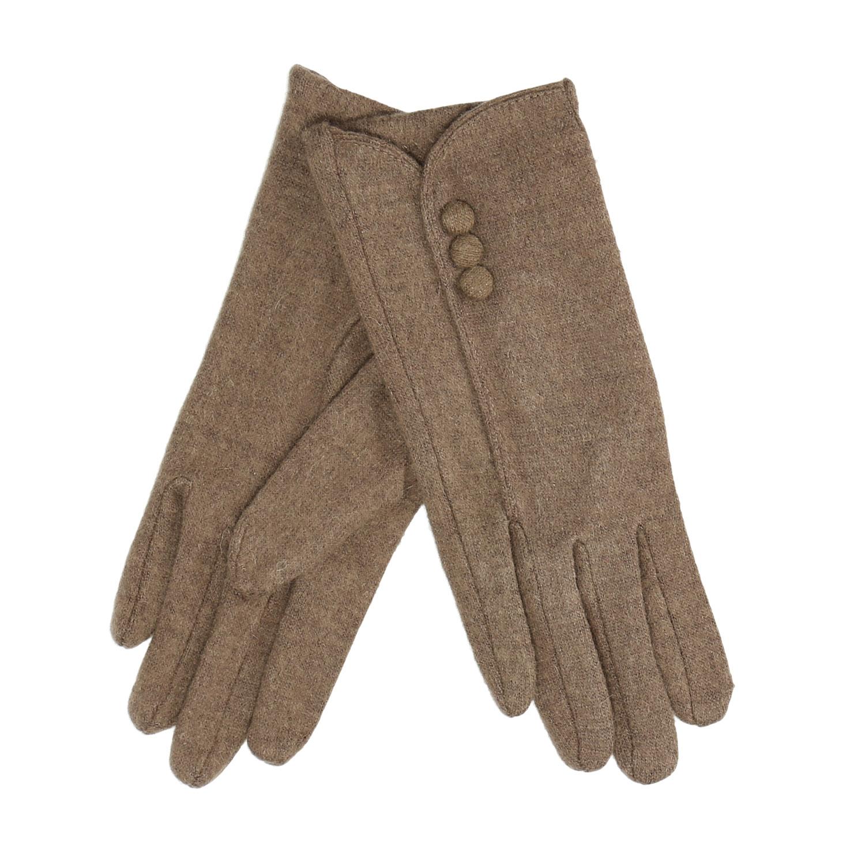 Dámské rukavice s knoflíčky
