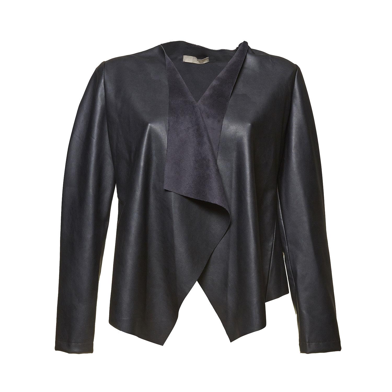 Dámské koženkové sako