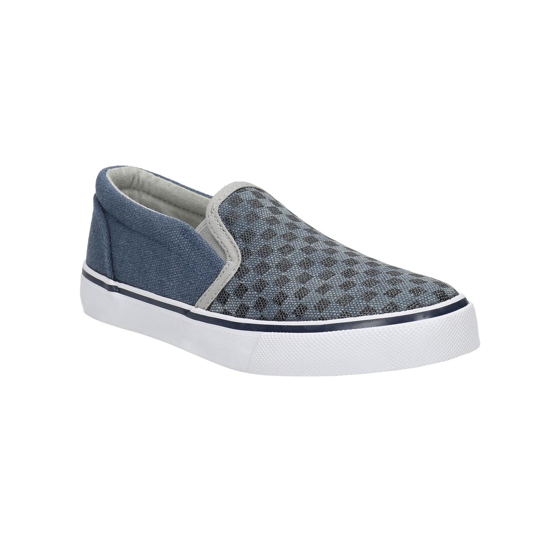 Buty dziecięce typu slip-on zwzorem - 3199247