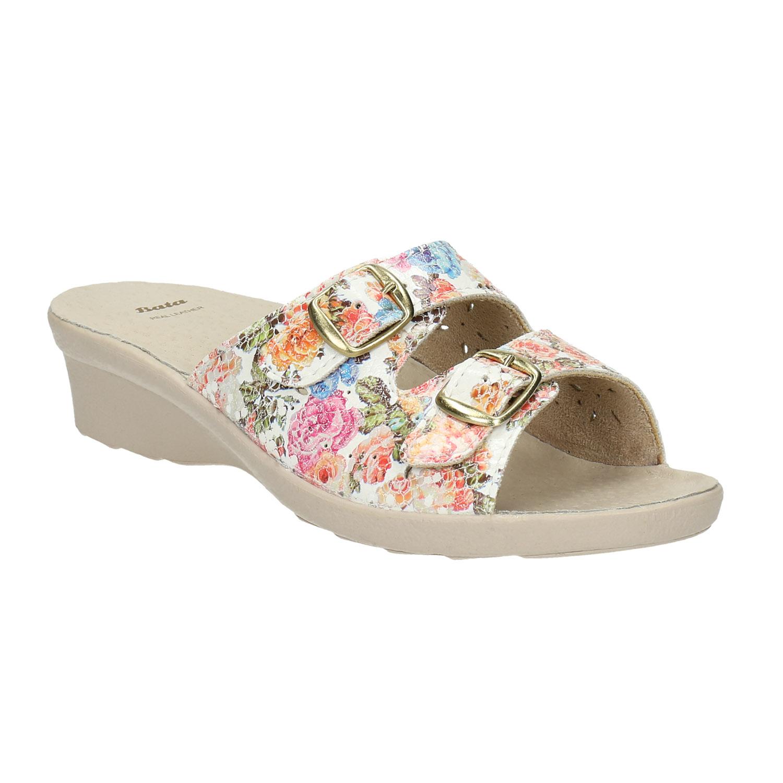 Dámská domácí obuv na podpatku