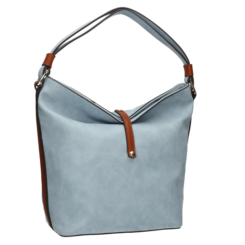 Modrá kabelka v Hobo stylu