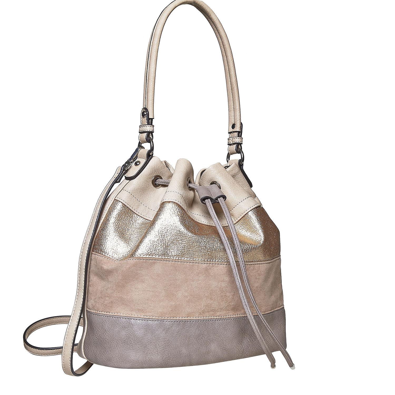 Kabelka ve stylu Bucket Bag
