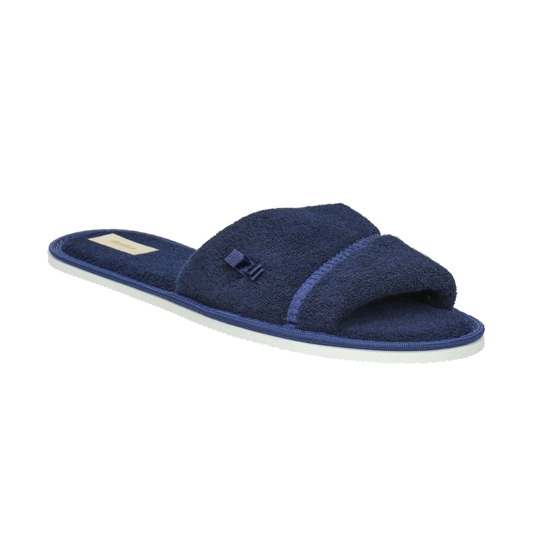 Dámská domácí obuv s mašličkou