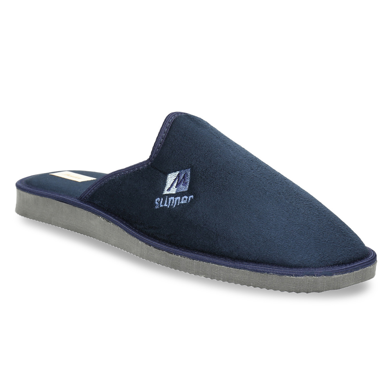 Pánská domácí obuv s plnou špicí
