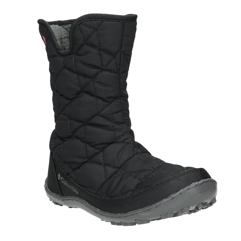 Dětská zimní obuv prošívaná