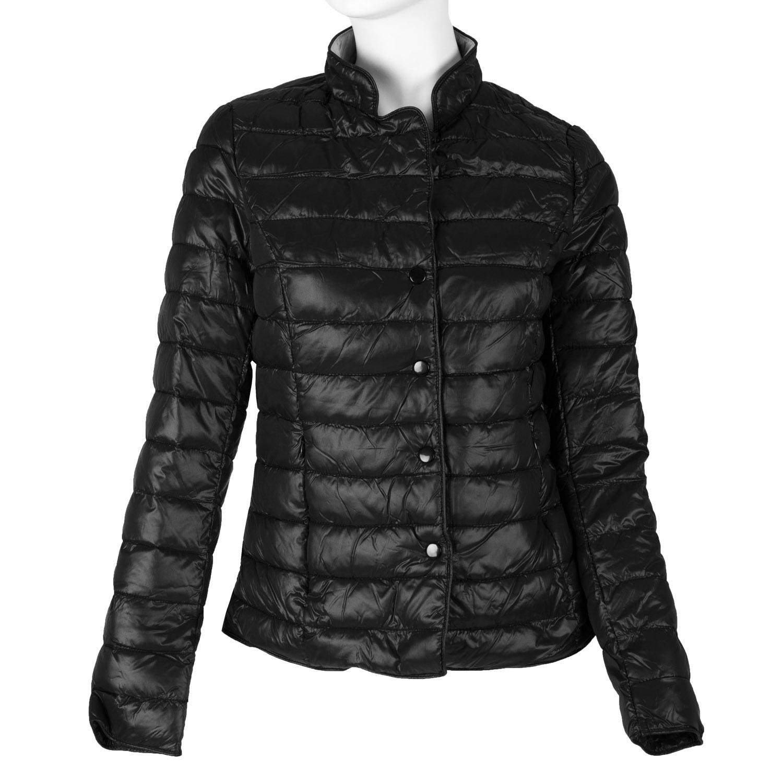 Prošívaná bunda s límečkem