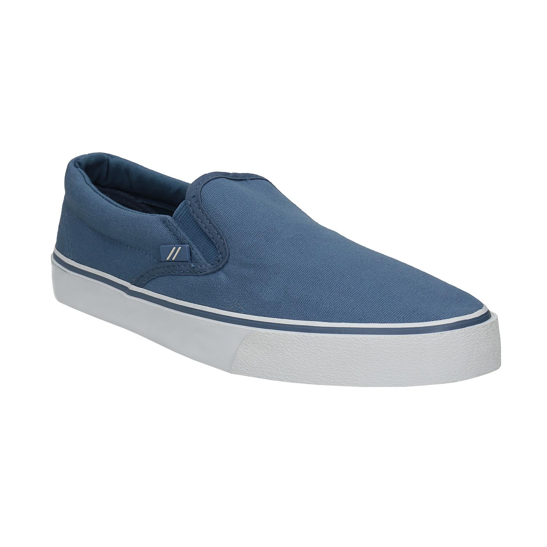 Niebieskie buty typu slip-on - 8899286