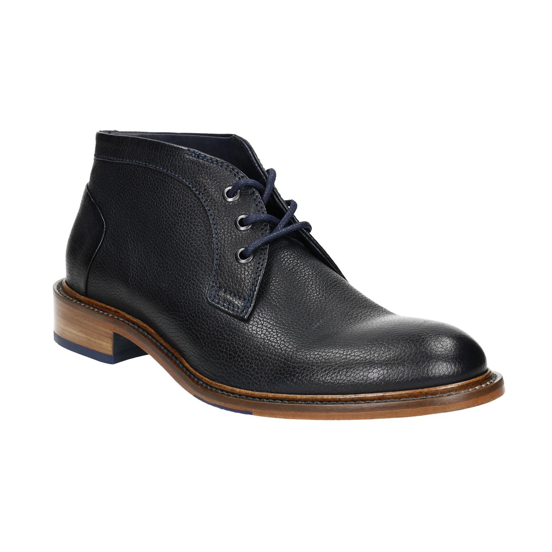 Buty za kostkę wykonane w całości ze skóry - 8269909
