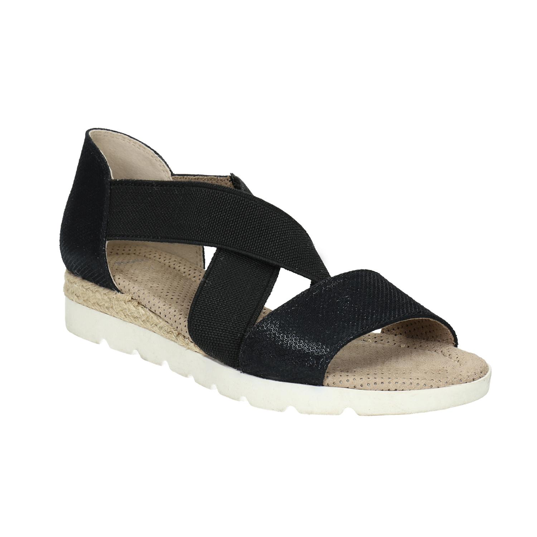 Sandály s pružnými pásky