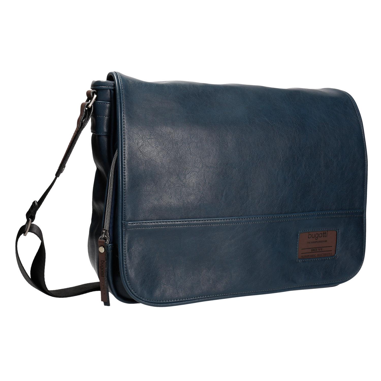 Granatowa torba męska - 9619033