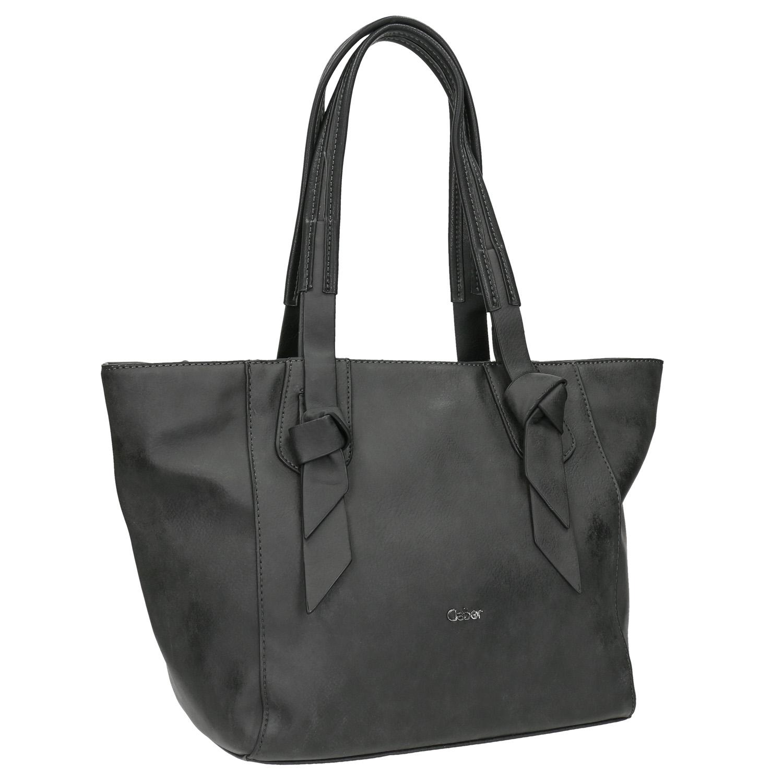 Czarna torba damska - 9616084