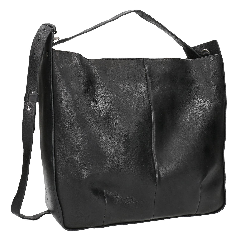 Hranatá kožená kabelka